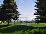 Tennis Courts/Basketball Court