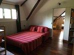 Palier avec canapé lit