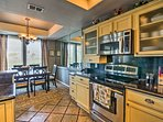 You'll love the luxurious granite counters.