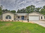 Escape to central Florida and stay at this vacation rental home in Dunnellon!