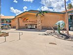Be sure to check out the dinosaur museum during your stay.