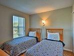 Kids will love having sleepovers in the twin bedrooms.