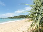 You can stay on one of the best beaches in Phuket