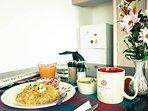 Servimos desayuno típico ecuatoriano, aportamos a una experiencia cultural completa