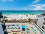 Great sundeck right on the gulf to soak up some rays!