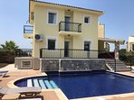 Newly refurbished villa , with new pool tiles and decking