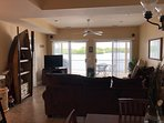 Gorgeous view from anywhere in the living area, kitchen and dining!