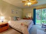 Patio access thru bedroom
