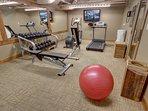 Sala fitness di Jack Pine
