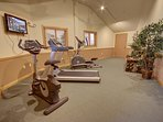 Cardio room in Hidden River.