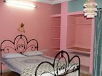 The pink bedroom for lovely dreams