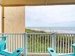 Oceanside Deck View - Comfortable Seating