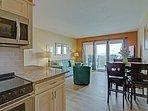 Kitchen, Dining & Living Room - Ocean Views