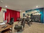 Loft/Game Room - Pool Table + Xbox One + 60'' 4K Smart HDTV