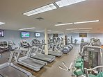 Get your legs moving in the Vail Racquet Club fitness center!