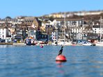 We're nestled in the heart of Falmouth yet on a quiet mostly pedestrianised quay