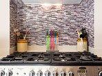 Wonderful kitchen appliances in our newly refurbished kitchen