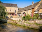 Bourton-on-the-Water is perfect for a relaxing Cotswold break