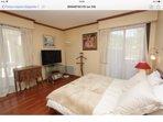 Master bedroom.  Bed 160