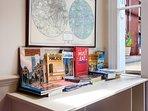 Tourism books, leaflets and maps