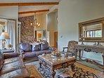 Unwind in this  3-bedroom, 2.5-bathroom vacation rental home in Estes Park.