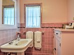 A third full bathroom provides added privacy.