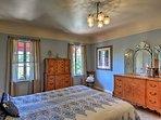 The 'Moroccan' room has a fantastic queen bed.