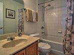 The house boasts 4 full bathrooms.