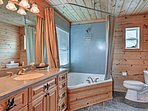 Could this bathroom get any more luxurious?