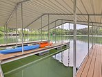 Bring along your boat or rent one at the local marina!