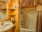 The master bedroom features an en-suite bathroom.