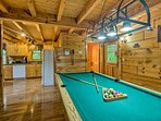Challenge your travel companions to a game of billiards!