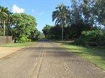 Aliomanu Road