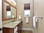 Pecan River Ranch-Bunk House Bathroom