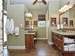 Pecan River Ranch-Master Bathroom