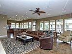 Pecan River Ranch-Living Room
