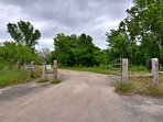 Pecan River Ranch-Front Gate