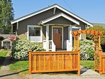 This charming 1920's vacation rental home boasts 2 bedrooms and 1 bathroom in an ideal Seattle location!
