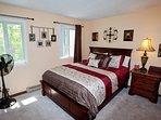 Brand new queen bed, mattress and pillows