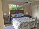 The lower right bedroom has been beautifully redecorated and is pleasing to the eye as well as comfortable!