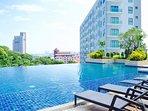 Pool View Look out at south Pattaya