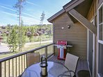 Propane grill on site for guest use, great views off the back patio.