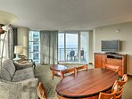 Enjoy fantastic views of Myrtle Beach during your stay at this condo!