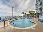 Take a dip in this refreshing pool!