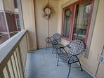 Your private deck in River Run Village!