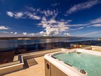 Rooftop jacuzzi gives you unique opportunity to enjoy views on Adriatic sea