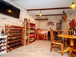 Traditional wine bar with local drinks