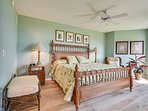 Tranquility on the Beach #150-Master Bedroom with King sized bed