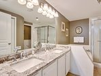 Tranquility on the Beach #150-Master Bathroom