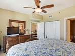 Shores of Panama 1918-Master Bedroom with flat screen tv